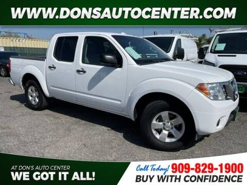 2012 Nissan Frontier for sale at Dons Auto Center in Fontana CA