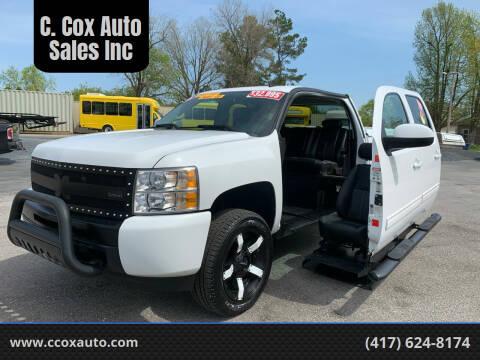 2012 Chevrolet Silverado 1500 for sale at C. Cox Auto Sales Inc in Joplin MO