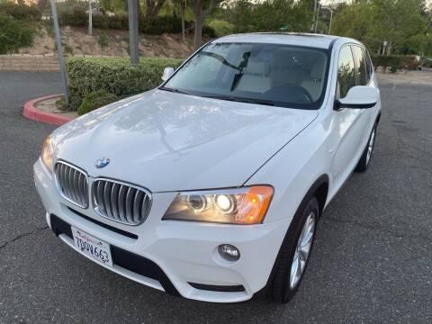 2014 BMW X3 for sale at Fiesta Motors in Winnetka CA