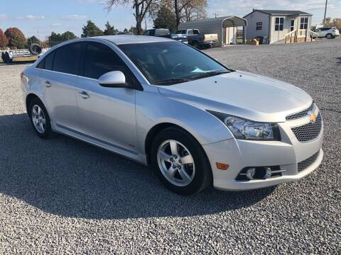 2014 Chevrolet Cruze for sale at RAYMOND TAYLOR AUTO SALES in Fort Gibson OK