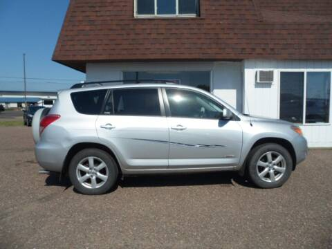 2008 Toyota RAV4 for sale at Paul Oman's Westside Auto Sales in Chippewa Falls WI