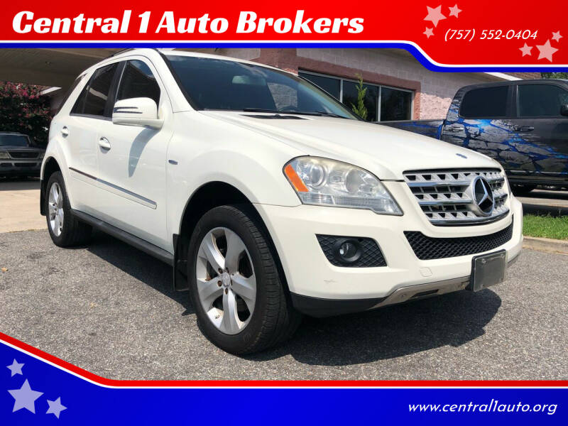 2011 Mercedes-Benz M-Class for sale at Central 1 Auto Brokers in Virginia Beach VA
