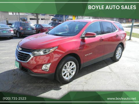 2018 Chevrolet Equinox for sale at Boyle Auto Sales in Appleton WI