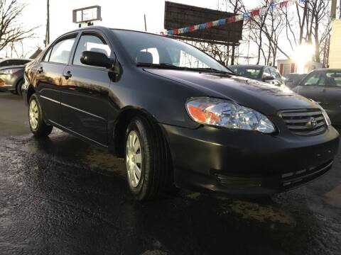 2003 Toyota Corolla for sale at Certified Auto Exchange in Keyport NJ