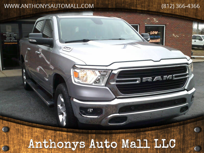 2019 RAM Ram Pickup 1500 for sale at Anthonys Auto Mall LLC in New Salisbury IN