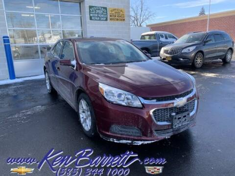 2015 Chevrolet Malibu for sale at KEN BARRETT CHEVROLET CADILLAC in Batavia NY