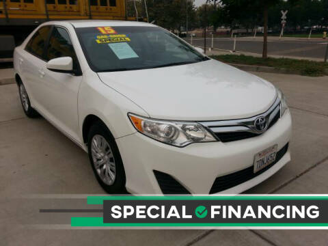2014 Toyota Camry for sale at Super Cars Sales Inc #1 - Super Auto Sales Inc #2 in Modesto CA