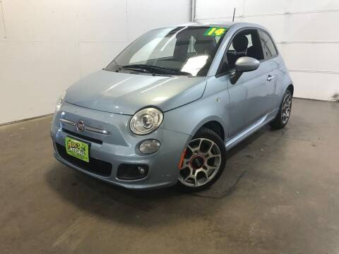 2014 FIAT 500 for sale at Frogs Auto Sales in Clinton IA