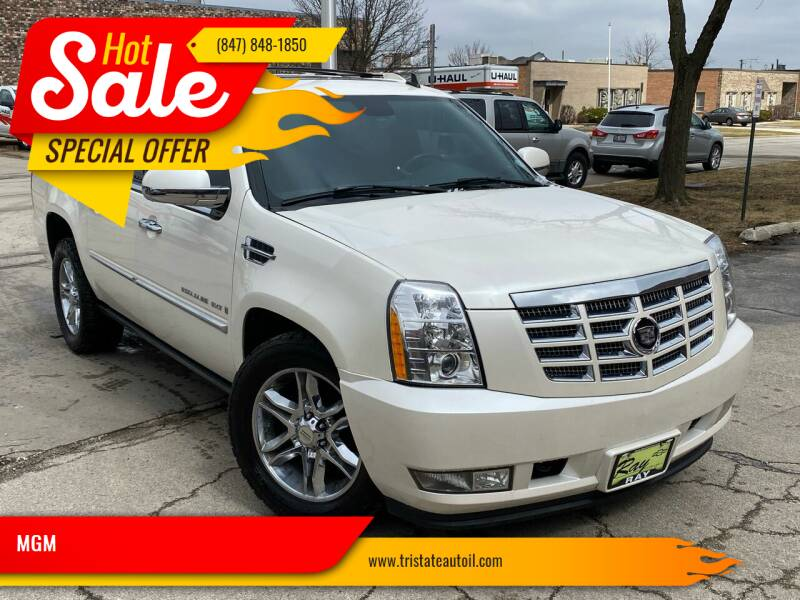 2007 Cadillac Escalade EXT for sale at MGM CLASSIC CARS in Addison IL