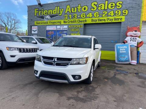 2015 Dodge Journey for sale at Friendly Auto Sales in Detroit MI