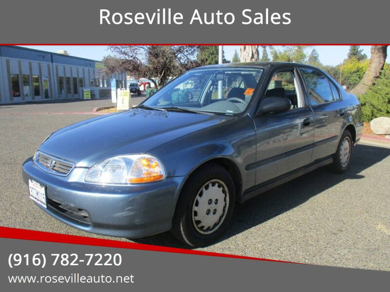 1997 Honda Civic for sale at Roseville Auto Sales in Roseville CA