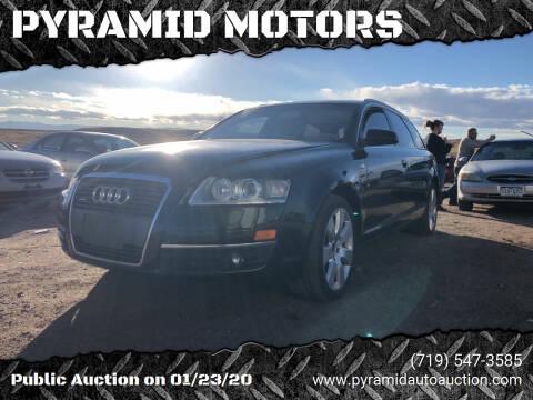 2007 Audi A6 for sale at PYRAMID MOTORS - Pueblo Lot in Pueblo CO