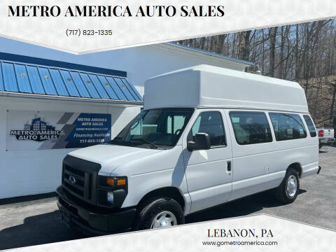 2012 Ford E-Series Cargo for sale at METRO AMERICA AUTO SALES of Lebanon in Lebanon PA