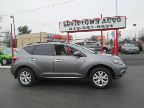 2013 Nissan Murano for sale at Levittown Auto in Levittown PA