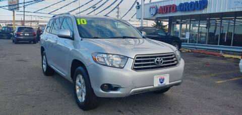 2010 Toyota Highlander for sale at I-80 Auto Sales in Hazel Crest IL