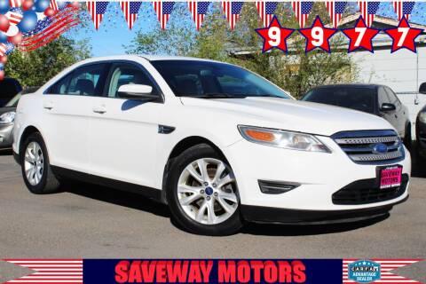 2012 Ford Taurus for sale at Saveway Motors in Reno NV