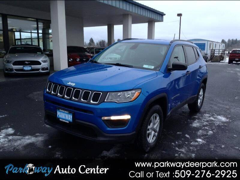 2018 Jeep Compass for sale at PARKWAY AUTO CENTER AND RV in Deer Park WA