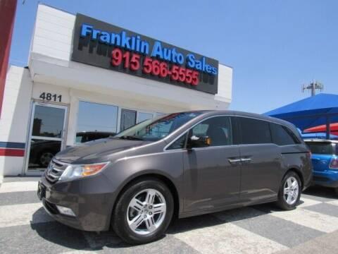 2013 Honda Odyssey for sale at Franklin Auto Sales in El Paso TX