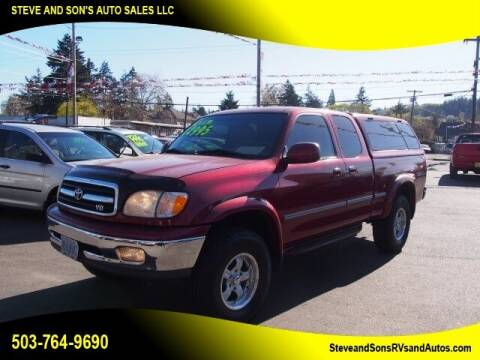 2001 Toyota Tundra for sale at Steve & Sons Auto Sales in Happy Valley OR