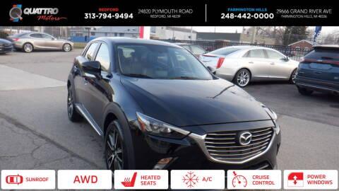 2016 Mazda CX-3 for sale at Quattro Motors 2 - 1 in Redford MI