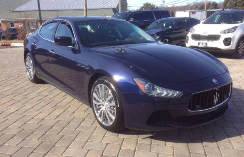 2015 Maserati Ghibli for sale at Shedlock Motor Cars LLC in Warren NJ