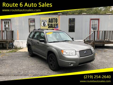2006 Subaru Forester for sale at Route 6 Auto Sales in Portage IN