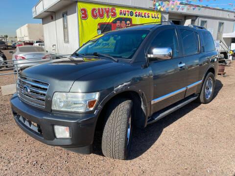 2006 Infiniti QX56 for sale at 3 Guys Auto Sales LLC in Phoenix AZ