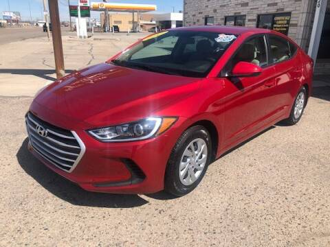 2017 Hyundai Elantra for sale at Valley Auto Locators in Gering NE