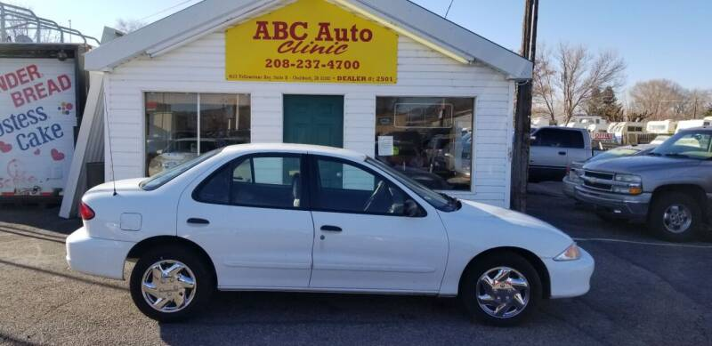 2001 Chevrolet Cavalier for sale at ABC AUTO CLINIC in American Falls ID
