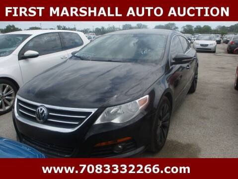 2009 Volkswagen CC for sale at First Marshall Auto Auction in Harvey IL