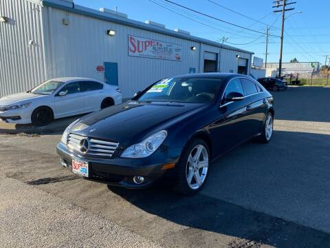 2006 Mercedes-Benz CLS for sale at SUPER AUTO SALES STOCKTON in Stockton CA