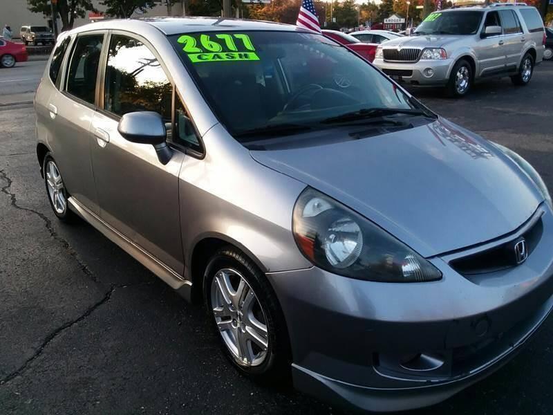 2007 Honda Fit for sale at Klein on Vine in Cincinnati OH