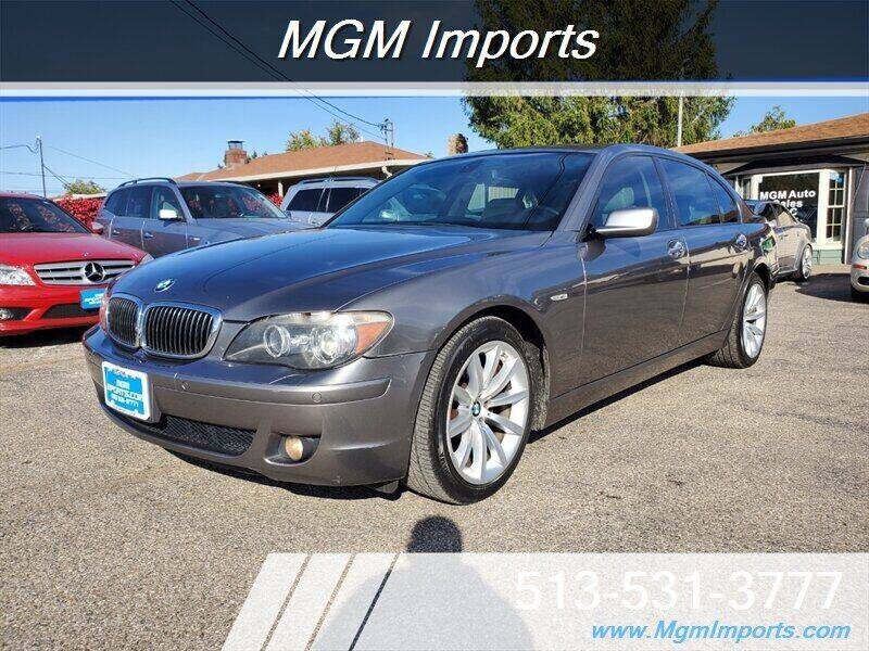 2007 BMW 7 Series for sale at MGM Imports in Cincannati OH