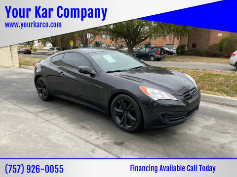 2012 Hyundai Genesis Coupe for sale at Your Kar Company in Norfolk VA