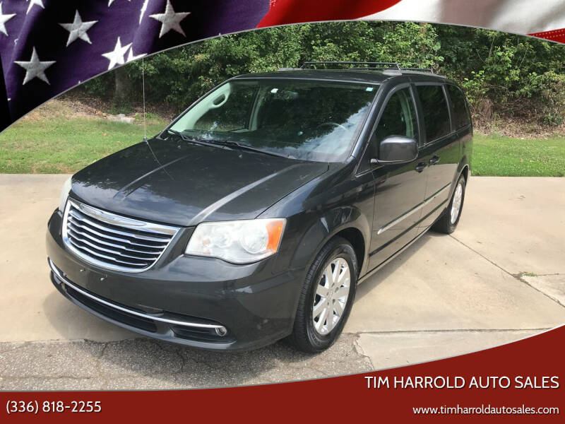 2012 Chrysler Town and Country for sale at Tim Harrold Auto Sales in Wilkesboro NC
