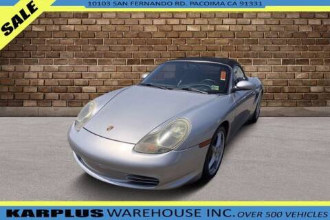 2004 Porsche Boxster for sale at Karplus Warehouse in Pacoima CA