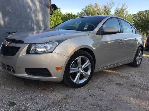 2012 Chevrolet Cruze for sale at A & J AUTO SALES in Eagle Grove IA