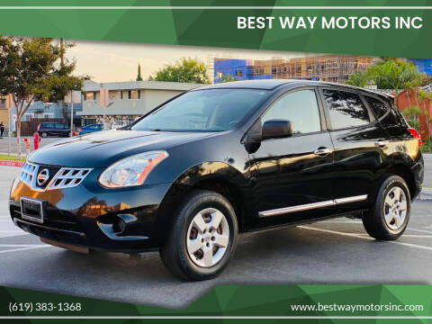 2013 Nissan Rogue for sale at BEST WAY MOTORS INC in San Diego CA