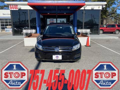 2018 Volkswagen Tiguan Limited for sale at 1 Stop Auto in Norfolk VA