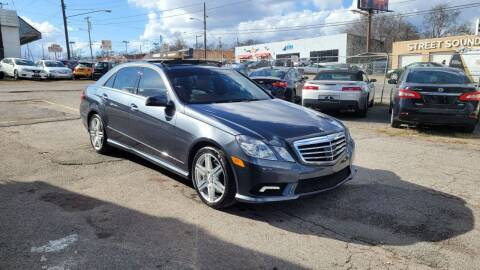 2010 Mercedes-Benz E-Class for sale at Green Ride Inc in Nashville TN