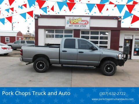 2008 Dodge Ram Pickup 1500 for sale at Pork Chops Truck and Auto in Cheyenne WY