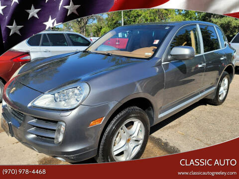2008 Porsche Cayenne for sale at Classic Auto in Greeley CO