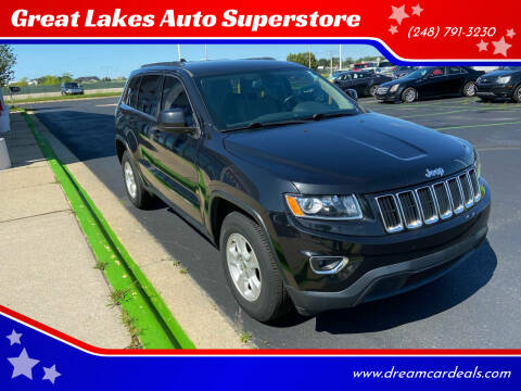 2015 Jeep Grand Cherokee for sale at Great Lakes Auto Superstore in Waterford Township MI