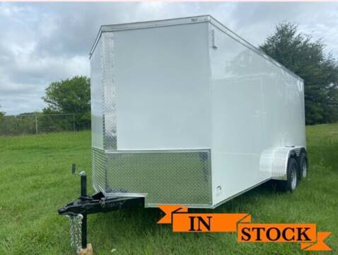 2021 Eagle 7 x 16 TA 2 for sale at Grizzly Trailers in Fitzgerald GA
