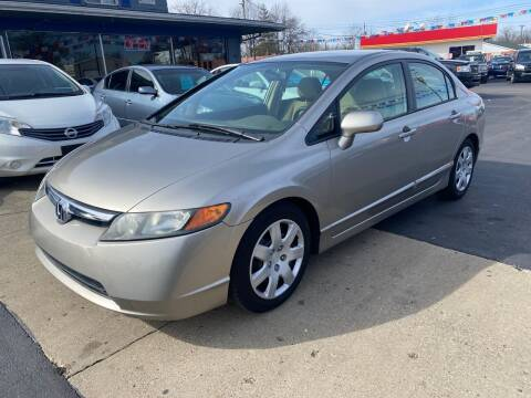 2006 Honda Civic for sale at Wise Investments Auto Sales in Sellersburg IN