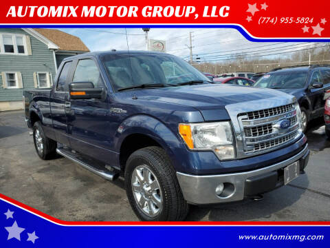2014 Ford F-150 for sale at AUTOMIX MOTOR GROUP, LLC in Swansea MA