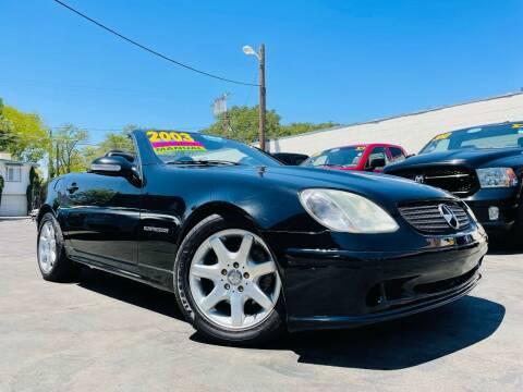 2003 Mercedes-Benz SLK for sale at Alpha AutoSports in Roseville CA