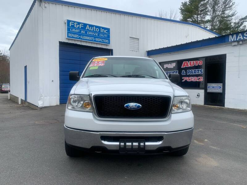 2007 Ford F-150 for sale at F&F Auto Inc. in West Bridgewater MA