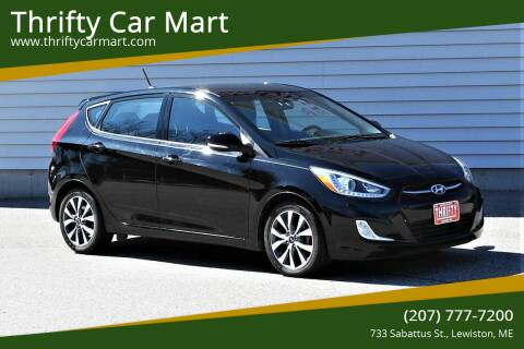 2015 Hyundai Accent for sale at Thrifty Car Mart in Lewiston ME
