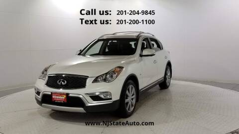 2017 Infiniti QX50 for sale at NJ State Auto Used Cars in Jersey City NJ